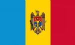 Moldova Large Country Flag - 3' x 2'.